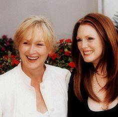 Meryl Streep and Julianne Morre