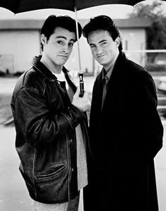 Matt LeBlanc & Matthew Perry from FRIENDS
