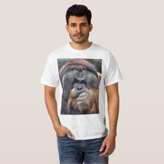 Orangutan T-Shirt - animal gift ideas animals and pets diy customize