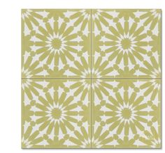 Rugosa C37-14 encaustic tile from Mosaic House