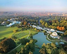 The Royal Castle and Greenhouses in #Belgium (#Brussels)