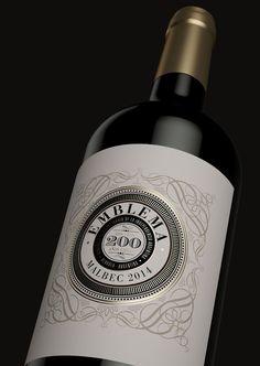 Etiqueta de vino #WineLovers #Wine #Vino #VinoTinto #AmarasElVino