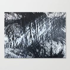 """Fine art print on bright white, fine poly-cotton blend, matte canvas using latest generation Epson archival inks. Individually trimmed and hand stretched museum wrap over 1-1/2"""" deep wood stretcher bars. Includes wall hanging hardware. #abstractart #wallart #canvas #minimal"""