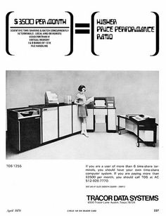 Tracor Data Systems - 1970
