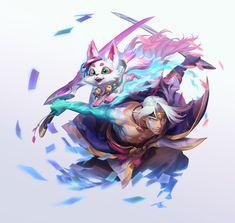 Keys Art, Riot Games, Lol League Of Legends, Art Direction, Anime Characters, Samurai, Character Art, Concept Art, Anime Art