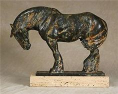 """Ode To The West Wind""-Port View by rod zullo Bronze ~ 15"" x 20"""