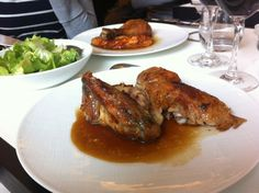 """See 103 photos and 44 tips from 636 visitors to Le Coq Rico. takes """"rotisserie"""" to a whole other level. Paris Eats, Coq, Crisp, Chicken, Ile De France, Cubs"""
