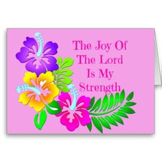 Joy Of The Lord Greeting Cards