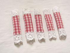 Szaloncukor textilből