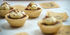 Mini choc mousse tarts