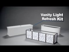 Best Photo Gallery Websites Hollywood Vanity Light Refresh Kit from Lowes