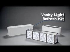 Genial Hollywood Vanity Light Refresh Kit From Lowes · Bathroom Light BarBathroom  ...
