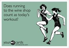 If that's the case, I'm in better shape than even Richard Simmons!