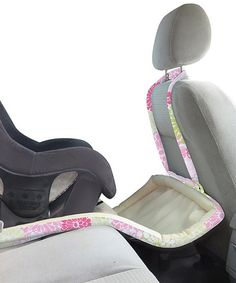 You can hand your kids Shopkins and Legos. But when they drop them, it's going to be a long seat-belt-less scramble trying to find them under the seats. The simple, elegant Catchie straps onto your car's headrest or hangs onto the backseat pocket, forming a safety net that keeps toys (and food! and liquids!) from falling (Catchie, $50)