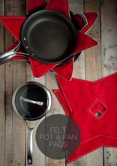 Felt Pot & Pan Pads | this heart of mine
