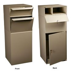 dVault Locking Curbside Mail and Package Delivery Vault Mailboxes in – The Home Depot – Exteriér domu – Ansicht Brick Mailbox, Diy Mailbox, Home Depot, Wall Mount Mailbox, Mounted Mailbox, Drop Box Ideas, Package Mailbox, Parcel Drop Box, Architectural Mailboxes