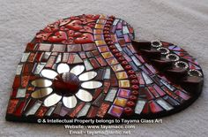 Mirror Mosaic, Mosaic Diy, Mosaic Crafts, Mosaic Projects, Mosaic Wall, Mosaic Glass, Mosaic Tiles, Stained Glass, Glass Art
