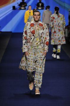 Etro Man Spring Summer 15 Fashion Show