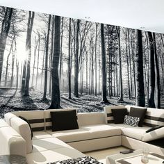 """""""A winter forest inside your home? Oh yes."""""""
