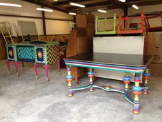 Custom #Repurposed furniture heading to South Carolina