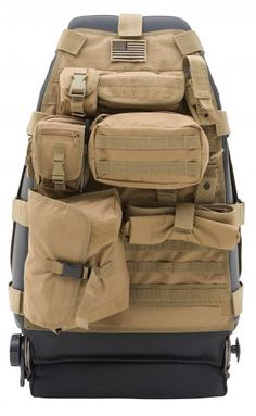 Smittybilt 5661024 - Smittybilt Front G.E.A.R. Seat Cover for 76-13 Jeep® CJ, Wrangler YJ, TJ, JK, TJ Unlimited & Wrangler Unlimited JK - Quadratec $99.00
