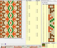 Flinkhand 36 - Diseño para 38 tarjetas , 4 colores, repite dibujo cada 8 movimientos   // Band36 ༺❁