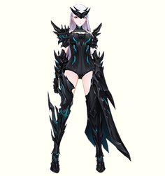 「Chevalier series」「シュバリエシリーズ」コスチューム 装着例 Harpy | ハーピー Closers Online, Manga Pictures, Anime Art Girl, Chara, Gundam, Darkness, Concept Art, Sexy Women, Costumes