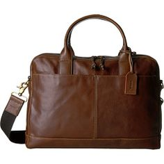 Fossil Wyatt Top Zip Workbag