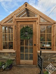 Magnolia's greenhouse at the Seed Store