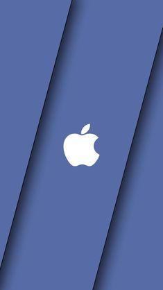Apple Blue wallpaper by Original Iphone Wallpaper, Apple Logo Wallpaper Iphone, Phone Wallpaper Design, Watch Wallpaper, Phone Wallpaper Images, Cellphone Wallpaper, Wallpaper Iphone Cute, Screen Wallpaper, Cool Wallpaper