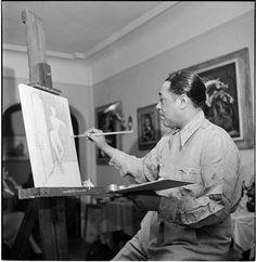 Duke Ellington painting.  Get it?  Jazz Art hahaha