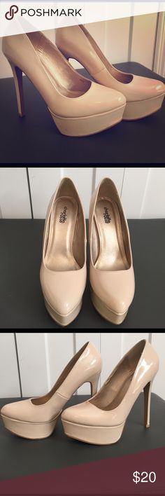 Charlotte Russe nude pumps Gently used nude pumps. Charlotte Russe Shoes Heels
