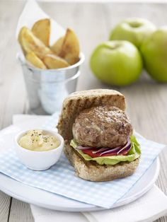 Bramley Burgers with Apple Sauce | Bramley Apples