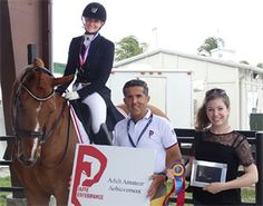 Signe Kirk Kristiansen Wins Piaffe Performance Adult Amateur Achievement Award | eurodressage
