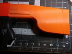 """""""Boat Paddle"""" stock for Nerf Elite and Modulous blasters I Cool, Really Cool Stuff, Modified Nerf Guns, Nerf Accessories, Nerf Mod, Cosmetic Kit, Paddle Boat, New Years Sales, Cool Toys"""