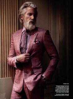 Aiden Shaw Dons Luxe Suits for The Rake Magazine image Aiden Shaw Model 2014 005