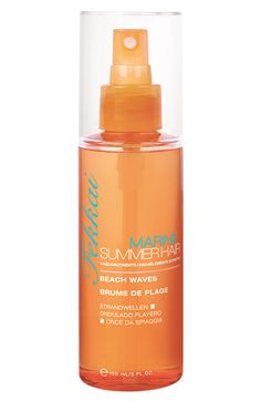 Fekkai Marine Summer Hair Spray is the BEST way to get the perfect beachy waves, especially for naturally straight hair!!