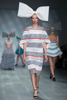A look from the Sibling Spring 2015 RTW collection.
