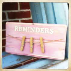 Made with Recycled Wood - Crafty Clutter