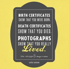 THAT'S Why You Hire a Photographer! ~ Photography Quote ~ Inspiration for Photographers