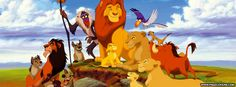 Disney The Lion King Mufasa Facebook Cover
