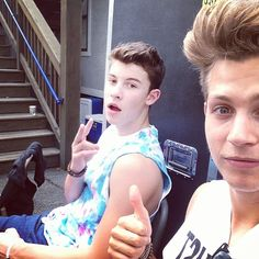 Shawn mendes and James