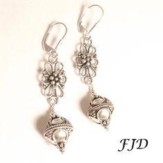 Bali Sterling Silver Earrings by FelicityDesignsLLC on Etsy