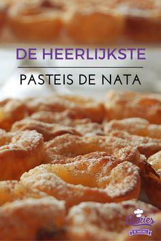 Great The Most Delicious Pasteis de Nata – Portuguese Custard Tarts - Cakies, , Beignets, Portuguese Custard Tarts, Baking Recipes, Dessert Recipes, Milk Recipes, My Favorite Food, Favorite Recipes, Biscuits, Portuguese Recipes