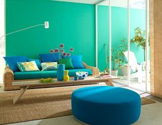 Amazing pop of colour for a wall!