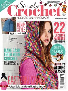 77 Best Simply Crochet Images Magazines Crochet Magazine Simply