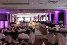 Black And Purple Wedding Reception | jda dj dancefloor 300x200 The Wedding Ceremony / Wedding Reception