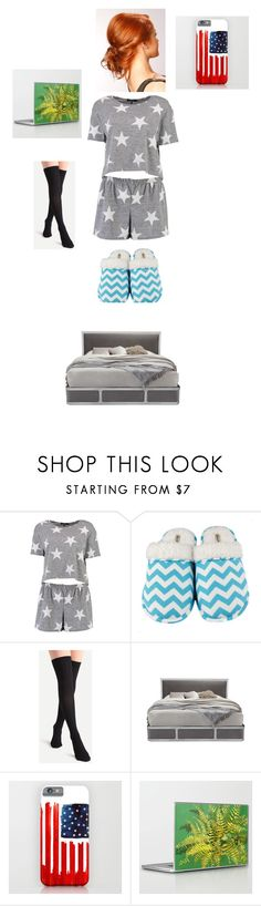 """Let's sleep together! ;)"" by rosemarieyoung ❤ liked on Polyvore featuring Boohoo, Leisureland and Interlude"