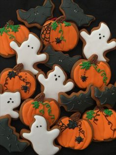 Halloween cookies # gingerbread
