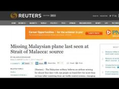 HIJACKED! Game Changing Info Showing Malaysia Flight 370 Over Malacca Straight!